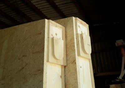 détail ossature bois